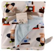 ALDORADO Extra Soft Fleece Double Layers Baby Blanket #1