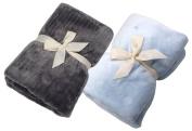 ALDORADO 2 pcs Set Soft Fleece Baby Blanket #12