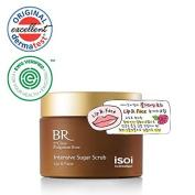 isoi Bulgarian Rose Intensive Sugar Scrub for Lip & Face 60g - anti-ageing, revitalising, gently exfoliating, for dry and sensitive skin