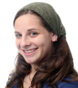 Green Headband Head Covering Jewish Pre Tied Tichel Hair Snood Bandana Mitpachat