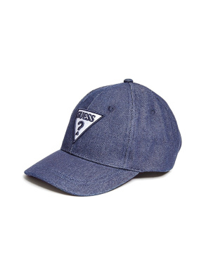GUESS Factory Boy's Denim Baseball Hat
