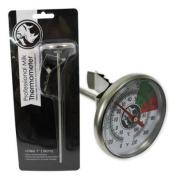 "Rhino Coffee Long Analogue Thermometer - 7"" (18cm) Stem"