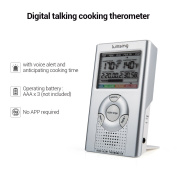 Food Cooking Thermometer- Lumsing Digital BBQ Meat Thermometer for Outdoor Grill Smoker Kitchen Barbecue Thermometer