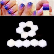 Zeaya 80Pcs/Set Nail Wipes Fibreless Sponges For Acrylics Wraps UV Gels Gentle Disposable