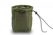 CISNO Military Small Molle Belt Tactical Magazine Dump Drop Reloader Pouch Bag W/ Mesh
