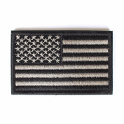 USA Morale American Flag Patch with Hook and loop by Backwoods Barnaby