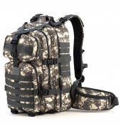 RUPUMPACK 35L Military Tactical Assault Backpack Hydration Backpack Army MOLLE Bug Out Bag Small Rucksack for Outdoor Hiking Camping Trekking Hunting School Daypack