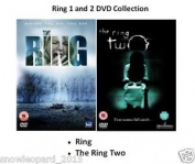 The Ring Part 1 And  Horror English Hollywood Version Sealed Uk Release [2 Discs]