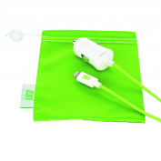 Juice Lightning In-car 1a Charger With 1.5m Green Cable For Iphones And Ipods