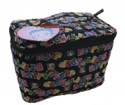 Betty Boop Fabric Travel Organising Cosmetic Bag