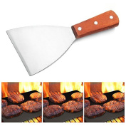 Adorox Grill Griddle Scraper Stainless Steel Commercial Grade 21cm Teppanyaki