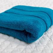 Soak & Sleep Soft Zero Twist Cotton Bath Sheet - Teal