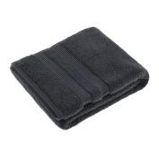 Soak & Sleep Soft Zero Twist Cotton Bath Sheet - Smoke