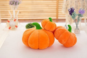 Pumpkin Shaped Halloween Fall Decorative Decor Cartoon Soft Plush Throw Pillow Cases Cushion Car Home Cover Gift