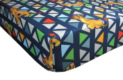Wild Team Lion King Lion Guard 100% Polyester (FITTED SHEET ONLY) Size TODDLER Boys Girls Kids Bedding