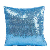 RTYou(TM) Solid Colour Glitter Sequins Throw Pillow Case