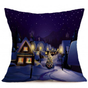 RTYou(TM) Christmas Sofa Waist Pillow Case Throw Cushion Cover Home Decor