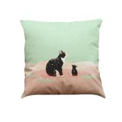 RTYou(TM) Cute Cat Sofa Bed Home Decoration Festival Pillow Case