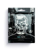 Barber Pro Face Putty Black Peel-off Mask For Men With Activated Charcoal (6