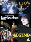Willow / Legend / Ladyhawke Val Kilmer, Joanne Whalley, Tom Cruise New Region 2