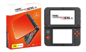 The New 3ds Xl Orange And Black Console (3ds) Free Uk Shipping