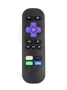 VINABTY New IR Replaced Remote fit for Roku 1 2 3 4 HD LT XS XD Roku Express Roku Premiere w Channel Shortcut Buttons, NOT Support for any Roku Stick or Roku TV