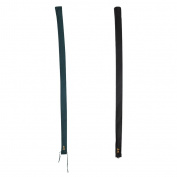 MagiDeal 2pcs Breathable Cotton Carp Fishing Rod Protector Sleeve Sock Storage Bag