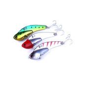 Feicuan Fishing Hard Bait Metal Lure VIB Tackle Stosh Fishhooks 7.5cm/21g Angling Gear Tools