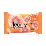 Katy Sue Hearty Soft Orange Air Drying Modelling Paper Craft Clay - 50g Pack