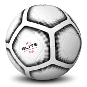 GoSports Elite Match Soccer Ball - Professional Tier Ball, Size 5 with Bonus Air Pump - Available as Single Balls or 6 Packs
