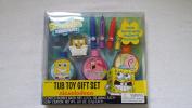 Sponge Bob Squarepants Tub Toy Gift Set from Sponge Bob Squarepants