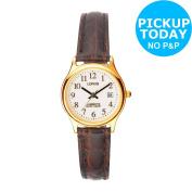 Lorus Ladies' Lumibrite Dial Strap Date Display Watch.;argos Shop On