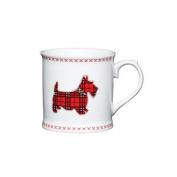 Kitchen Craft Fine Bone China Scottie Dog Barrel Mug