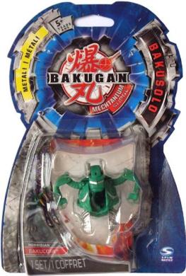 Bakugan Mechtanium Surge - BakuSolo - Metal- BakuCore HORRIDIAN (Green)