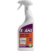 Evans Vanodine Clean Fast Foaming Washroom Cleaner En1276 750ml