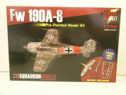 Squadron Models-----1/72 Scale German WW II Fw 190A-8 Aircraft---Plastic Model