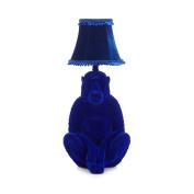Abigail Ahern/edition Blue Velvet Baboon Table Lamp From Debenhams