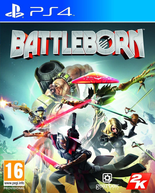 Battleborn - Ps4 - *import* New & Sealed - Now - .