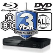 Panasonic Blu-ray Player Full Multiregion Dmp-bd83eb-k Bbc Iplayeryoutube