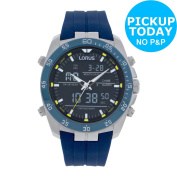 Lorus Men's Blue Strap Sports Watch. From The Official Argos Shop On