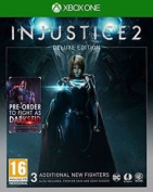 Injustice 2 Deluxe Edition Xbox One Inc Darkseid Dlc New And Sealed