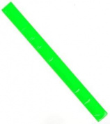 Halfords Hi Vis High Visibility Slap Wrap Green Reflector Wrist Ankle Bicycle