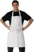 Fftj Painters & Decorators Apron Carpenter Butchers Work Wear Cotton White Pc207