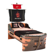 Cilek Kids Room Pirate Collection, S Ship Bed with Mattress