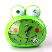 Cute Frog-Shaped Pig-Shaped Alarm Clock For Kids With Night-Light