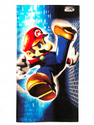 Super Mario Kids Printed Terry Bath Towel, 20X40