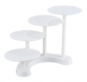 Cheesea 4 tier Celebration Party Wedding Multilayer Cup Cake Stand, Stacked Party Cupcake Stand, Food Display Stand, tiered cake stand