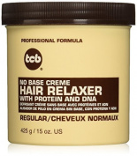 TCB No Base Creme Hair Relaxer, Regular, 440ml by Tcb