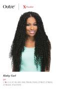Kinky Curl 60cm Braid (1B Off Black) - Outre X-Pression Synthetic Crochet Braiding Hair