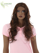 HEAT FRIENDLY LACE FRONT LONG HAIR WIG LAILA FOR BLACK WOMAN FROM AFRICAN AMERICAN COLLECTION BY ILONA HAIR